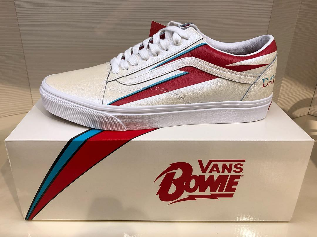 0ff9ce5a970448 Vans set to release limited edition David Bowie themed sneakers