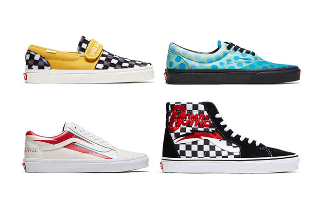 huge discount 27b2b d5799 Vans set to release limited edition David Bowie themed sneakers